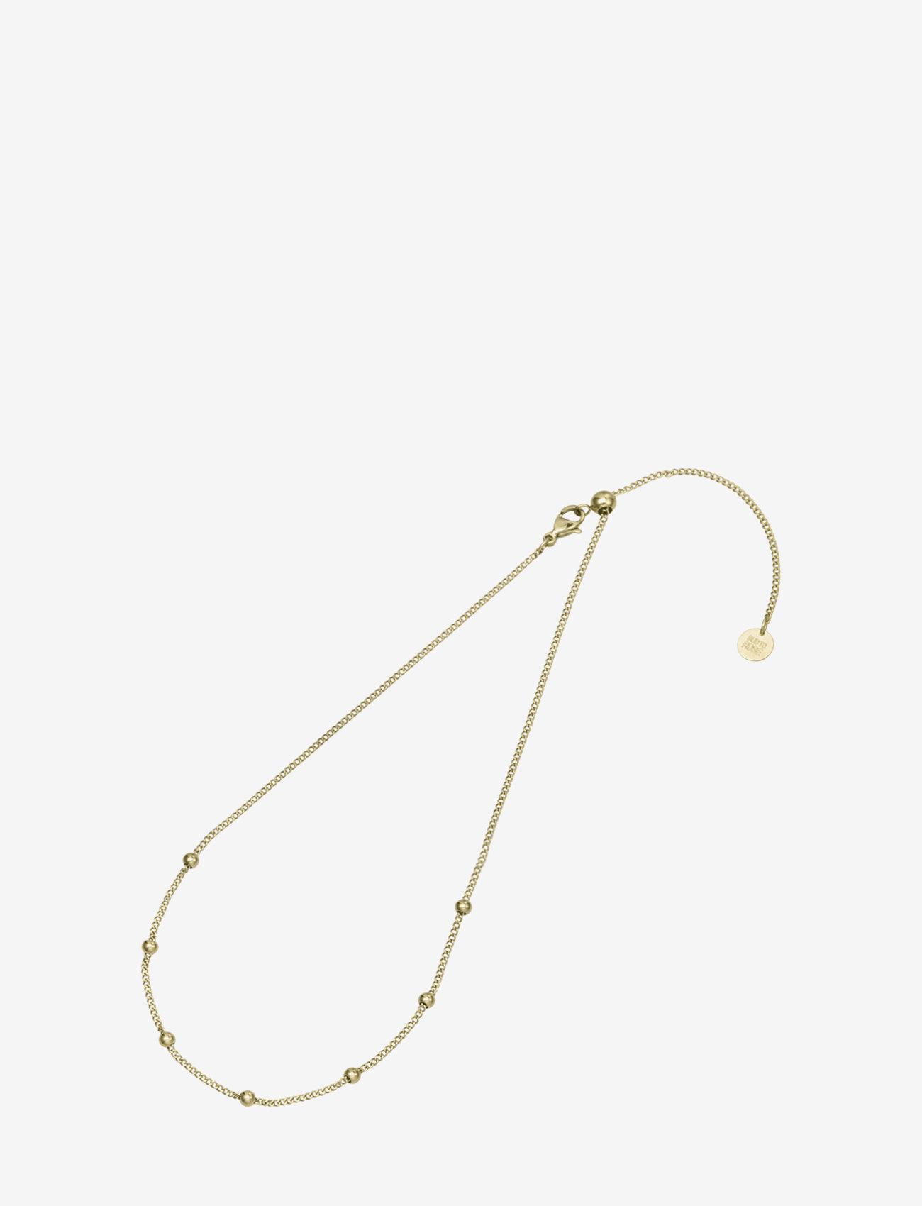 Bud to rose - Globe Choker Necklace Steel - kettingen met hanger - gold - 1