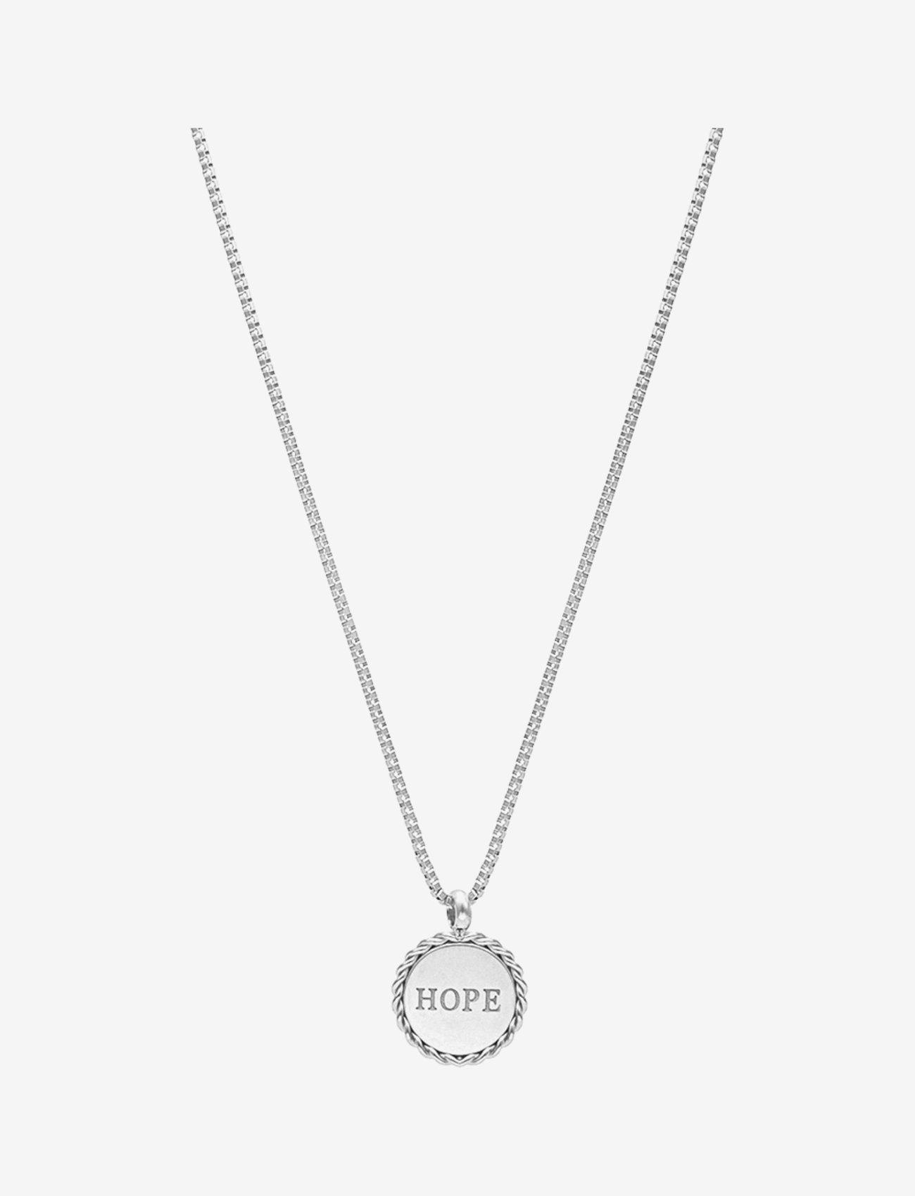 Bud to rose - Hope Short Necklace Steel - kettingen met hanger - silver - 0