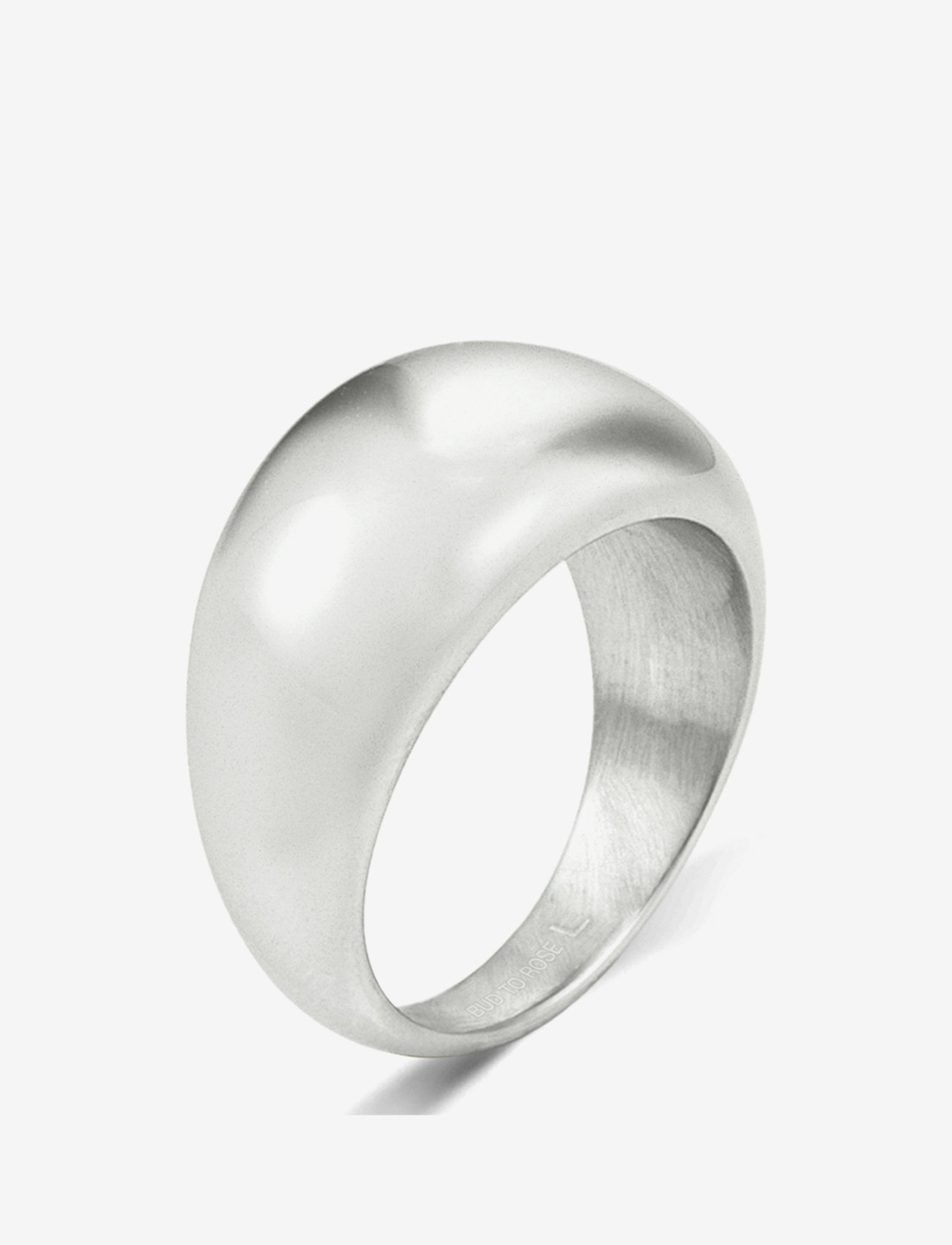 Bud to rose - Arc Bold Ring Steel - ringen - silver - 0