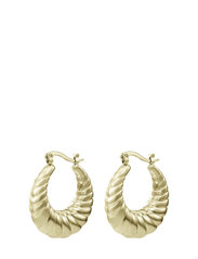 Sway Large Earring Gold - GOLD