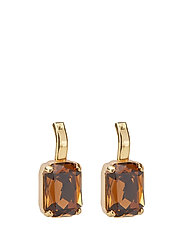 River Earring - BROWN/GOLD