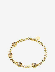 Bud to rose - Sence Crystal Bracelet Clear/Steel - dainty - gold - 0