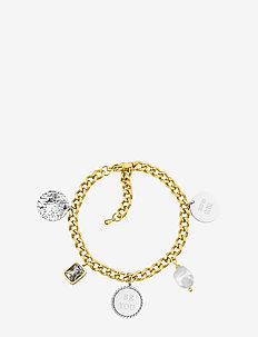 Be You Charm Bracelet Mix - dainty - silver