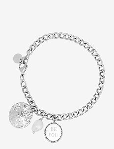 Be You Charm Bracelet Steel - silver