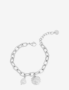 Devious Link Bracelet Steel - dainty - silver