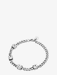 Sence Crystal Bracelet Clear/Steel - SILVER