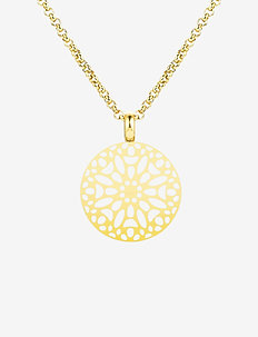 Sence Short Necklace Steel - GOLD