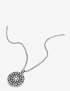 Sence Short Necklace Steel - SILVER