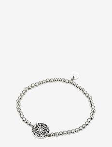 Sence Elastic Bracelet Steel - dainty - silver