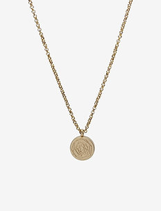 Ross Short Necklace Steel - GOLD