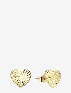 Heart Earring Gold - GOLD
