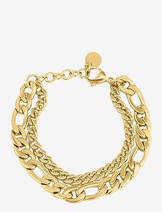 Figaro Duo Necklace - statement-kaulakorut - gold