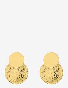 Capri Earring - nappikorvakorut - gold