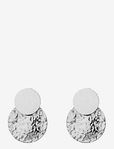 Capri Earring - nappikorvakorut - silver