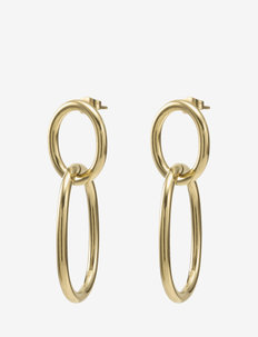 Garbo Earring Gold - oorhangers - gold