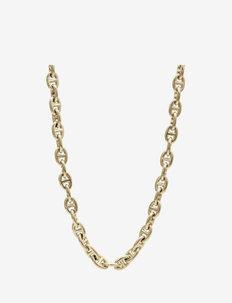 Nikki Short Necklace Steel - kettingen  - gold