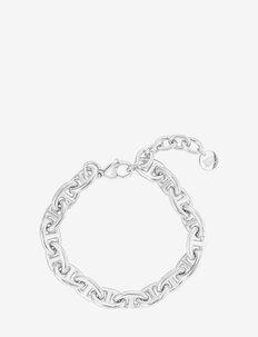 Nikki Bracelet Steel - dainty - silver
