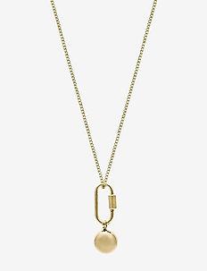 Nova Long Necklace Gold - kettingen met hanger - gold