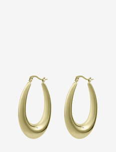 Arc Long Earring Gold - creoler - gold