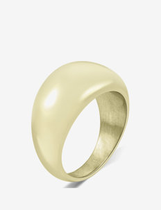 Arc Bold Ring Steel - ringen - gold