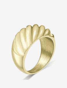 Sway Bold Ring Gold - ringen - gold