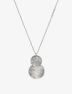 Bianca Long Necklace - SILVER