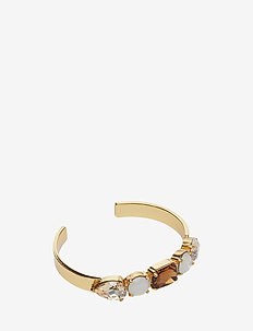 River Bracelet - BROWN/WHITE/GOLD