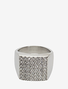 Linn Ring Crystal - CLEAR/STEEL
