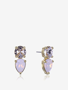 Mini River Earring - PINK/GOLD