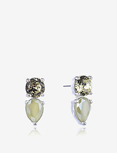 Mini River Earring - YELLOW/SILVER