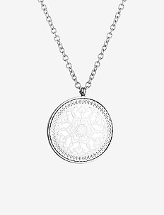 Karma Long Necklace - SILVER
