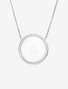 Karma Large Short Necklace - SILVER