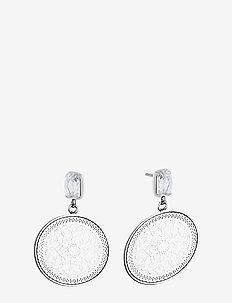 Karma Crystal Earring - SILVER
