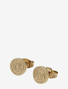 Ross Earring Steel - GOLD