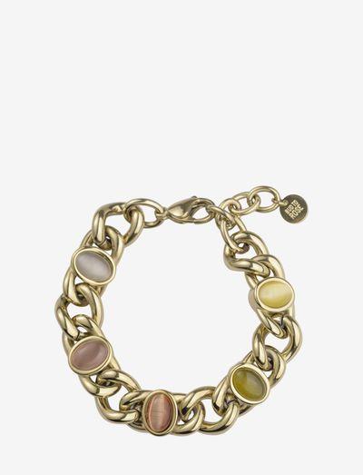 Retro Bracelet - dainty - mix/gold