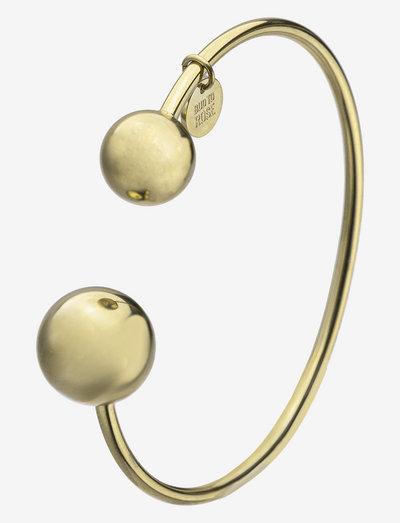 Globe Bangle - bangles - gold