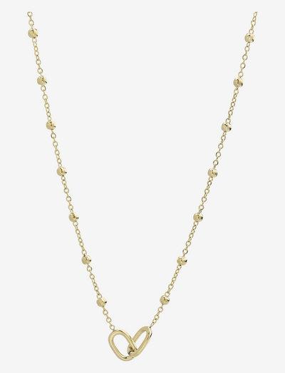 Join Short Necklace - halskæder med vedhæng - gold