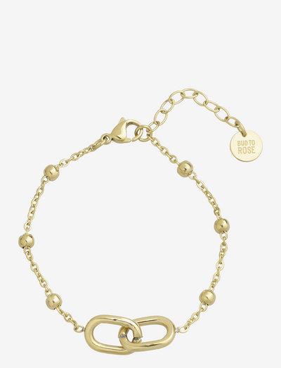 Join Bracelet - dainty - gold