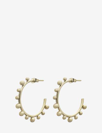Bead Multi Hoop - creoler - gold