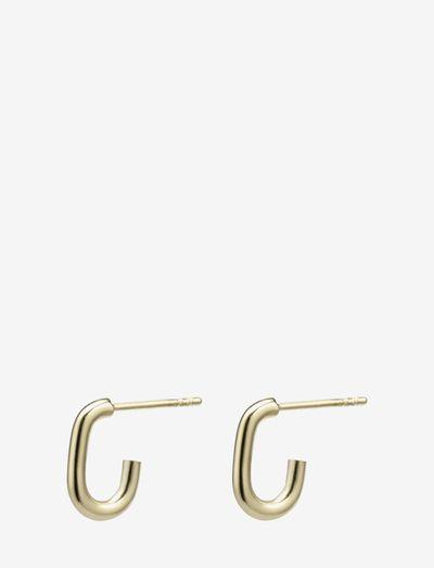 Join Earring - creoler - gold