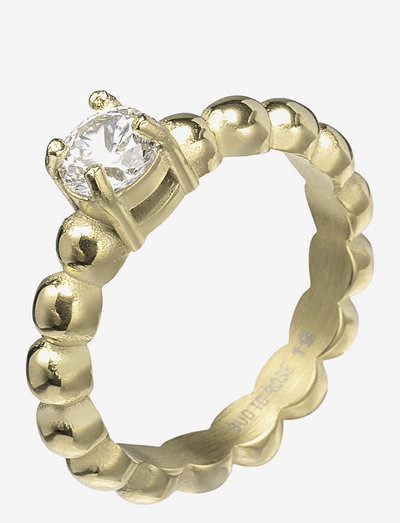 Ice Ring - ringe - clear/gold
