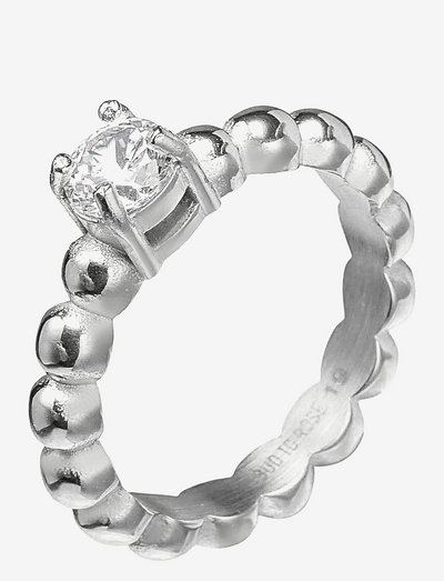 Ice Ring - ringe - clear/silver