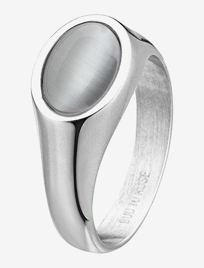 Retro Ring - ringe - grey/silver