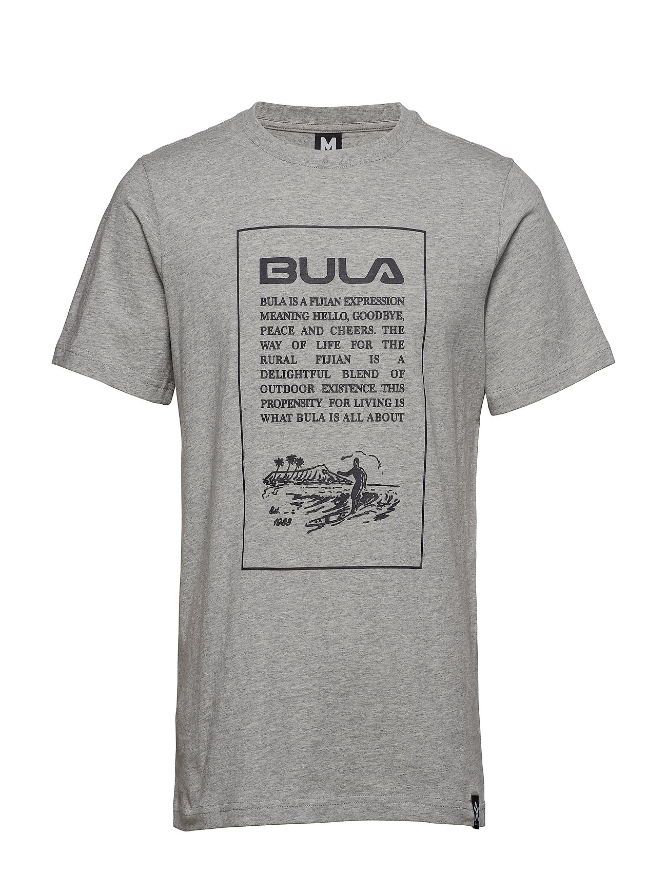 Image of Pure Tee T-shirt Grå BULA (3169769403)