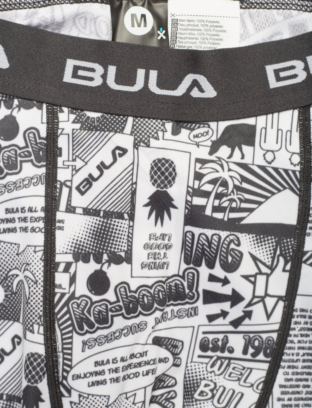 Bula Off Course Baselayerset - Innerlag BLACK - Menn Klær