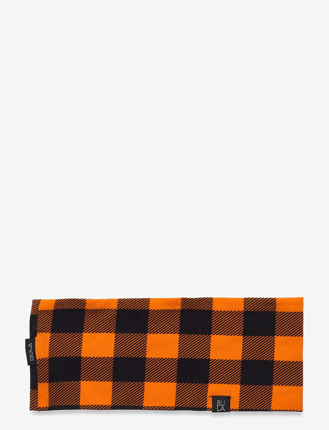 Bula - COTTON CHECK HEADBAND - hårbånd - orange - 0