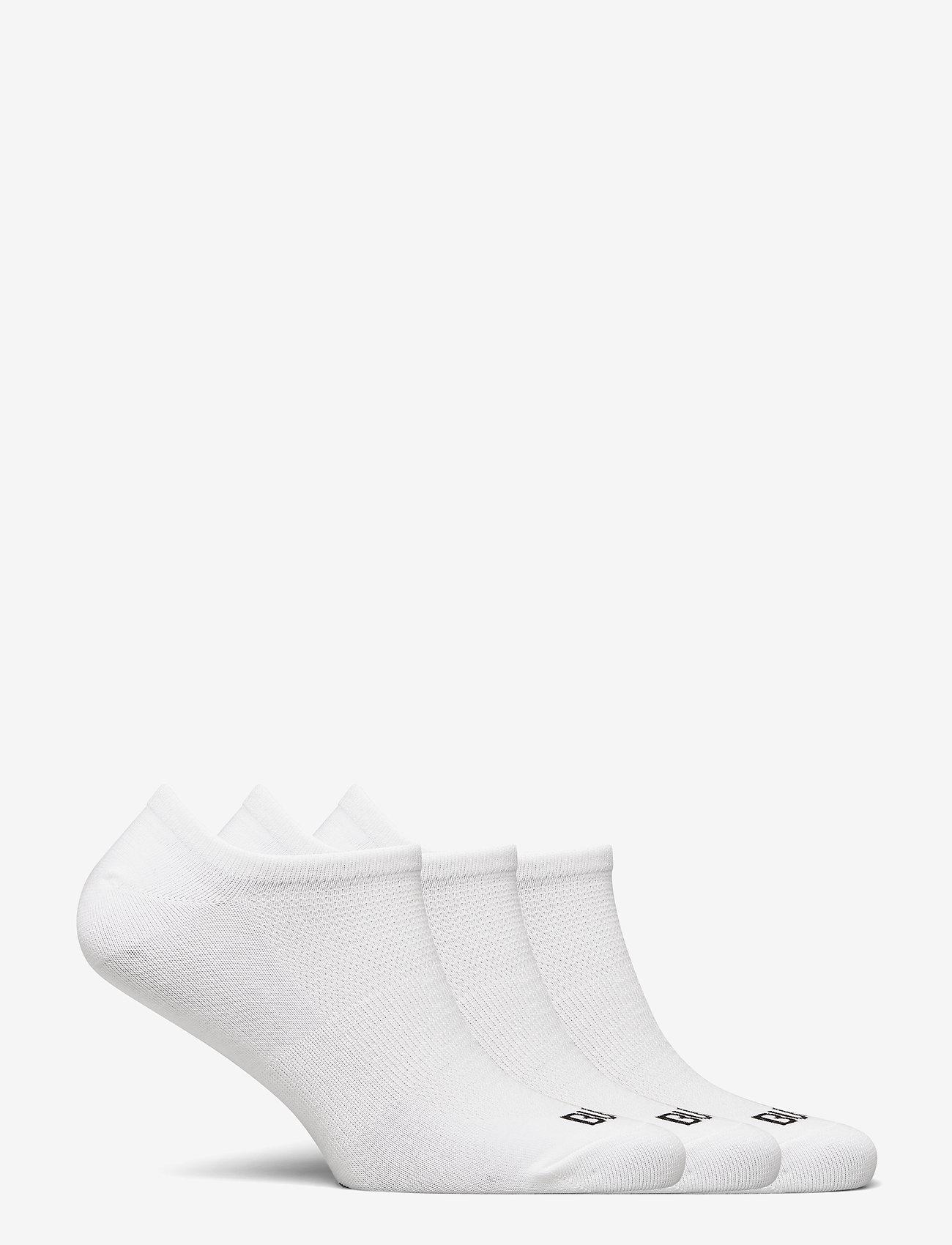 Bula 3PK NO SHOW SOCK - Sokker WHITE - Menn Klær