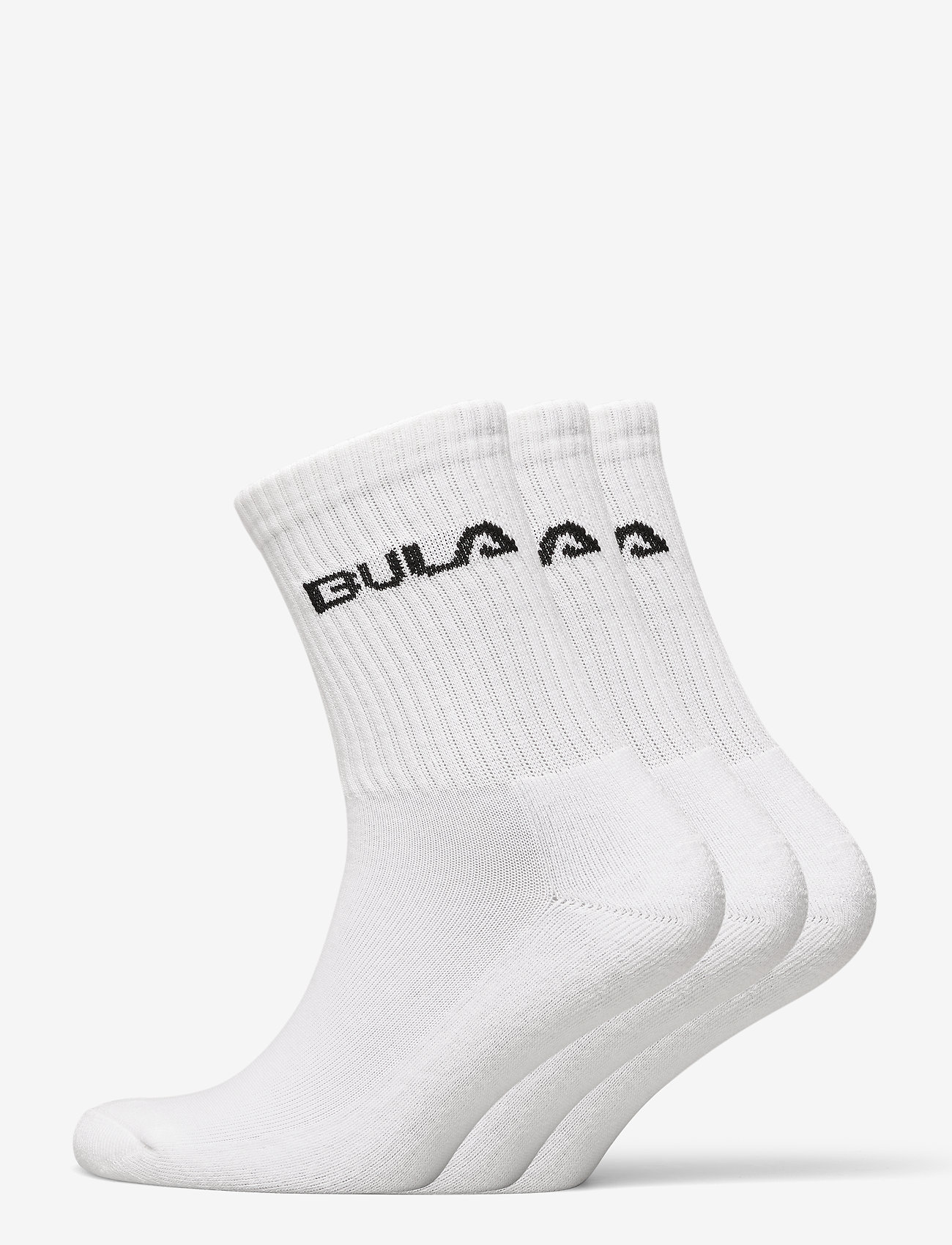 Bula - CLASSICSOCK3PK - reguläre strümpfe - white - 0