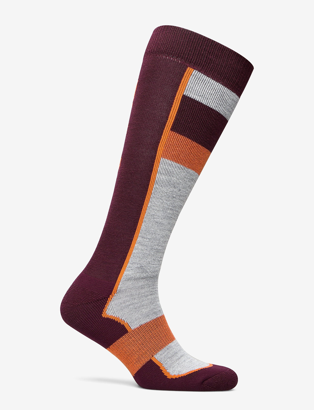 Bula - Retro Ski Sock - regular socks - burgnd - 1