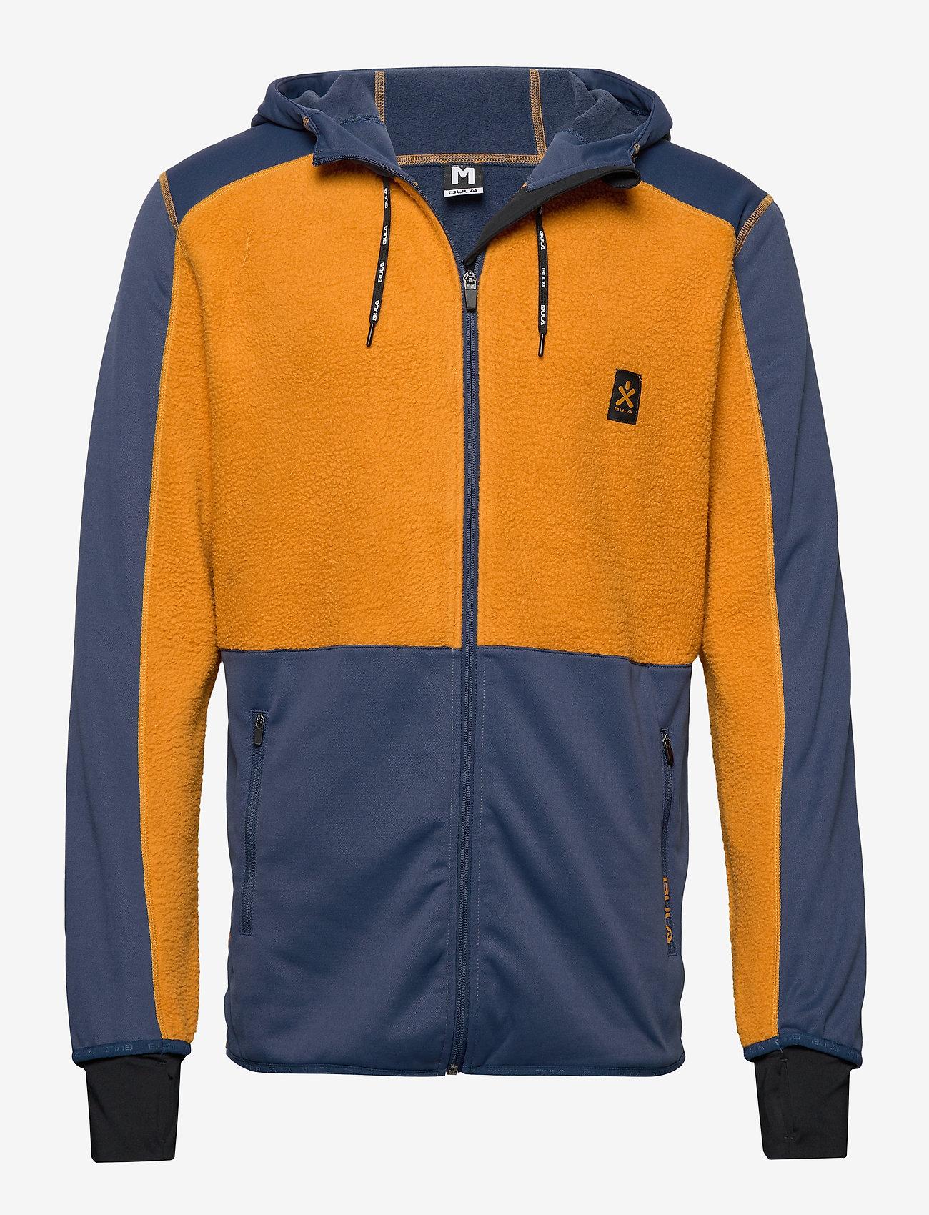 Bula - Fleece Zip Hood - fleece midlayer - okra - 0